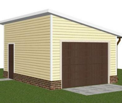 Строим гараж из бревна ютуб